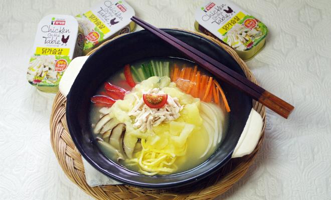 여름보양식 닭가슴살 초계탕으로 보양과 다이어트를 한 번에!